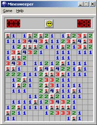 Minesweeper - Hidden dangers.