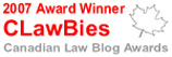 2007 Canadian Law Blog Awards Winner